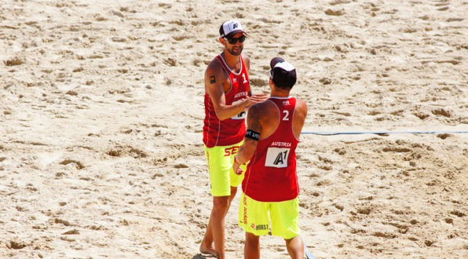 Beachvolleyball Grand Slam Klagenfurt 2014