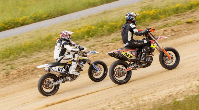 Supermoto Staatsmeisterschaft am Nordring 2014